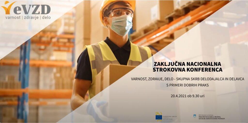 e-VZD zbornik in video posnetki predavateljev zaključne nacionalne strokovne konference e-VZD (20.4.2021)